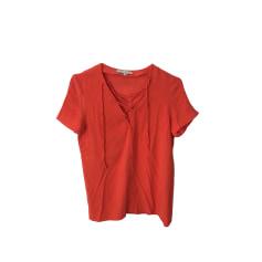 Top, T-shirt SANDRO Orange