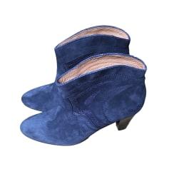 Bottines & low boots à talons PETITE MENDIGOTE Bleu, bleu marine, bleu turquoise