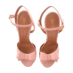 Sandales à talons RED VALENTINO Rose, fuschia, vieux rose