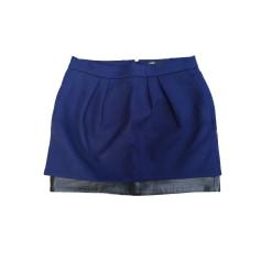 Mini Skirt MAJE Blue, navy, turquoise
