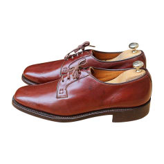 Lace Up Shoes TRICKER'S Red, burgundy