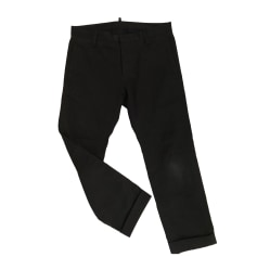 Pantalone tailleur uomo DSQUARED2 Nero