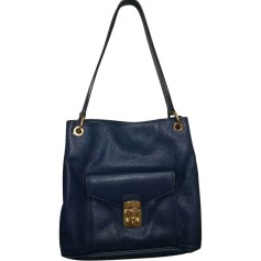 Leather Handbag MIU MIU Blue, navy, turquoise