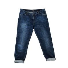 Wide Leg Jeans, Boyfriend Jeans COP-COPINE Blue, navy, turquoise