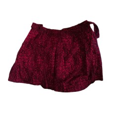 Mini Skirt MAJE Red, burgundy