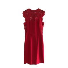Mini-Kleid THE KOOPLES Rot, bordeauxrot