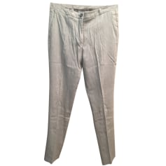 Skinny Pants, Cigarette Pants AMERICAN VINTAGE Gray, charcoal