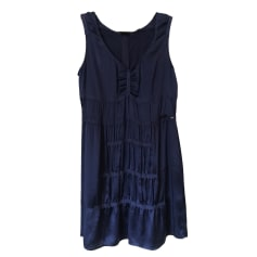Midi Dress IKKS Blue, navy, turquoise