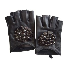 Gloves KARL LAGERFELD Black