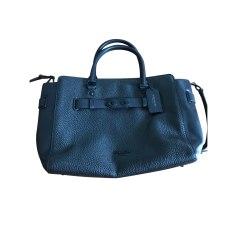 Leather Handbag COACH Black