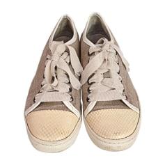 Sneakers LANVIN Beige, camel