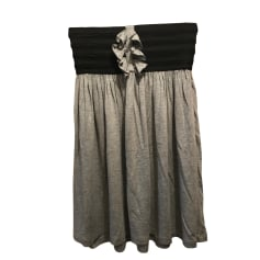 Mini Skirt SANDRO Gray, charcoal
