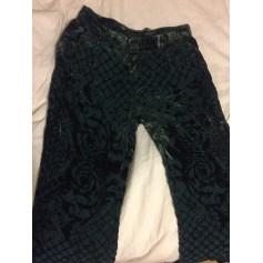 Pantalon large BALMAIN X H&M Vert