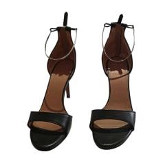 Heeled Sandals GIVENCHY Black
