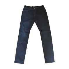 Jeans slim CERRUTI 1881 Bleu, bleu marine, bleu turquoise