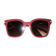 Sunglasses SALVATORE FERRAGAMO Red, burgundy