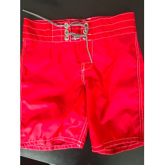 Swim Shorts MARQUE INCONNUE Red, burgundy