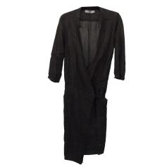 Robe mi-longue COMPTOIR DES COTONNIERS Marron