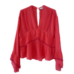 Tops, T-Shirt IRO Rot, bordeauxrot