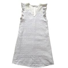 Robe mi-longue BEL AIR Blanc, blanc cassé, écru