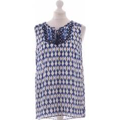 Top, tee-shirt BLEU DE SYM Bleu, bleu marine, bleu turquoise