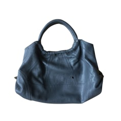 Leather Oversize Bag KARINE ARABIAN Gray, charcoal