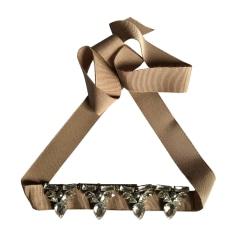 Necklace LANVIN Beige, camel