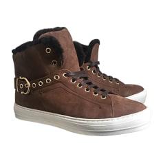 Sneakers SALVATORE FERRAGAMO Brown