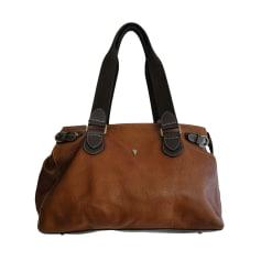 Leather Handbag LANCASTER Brown
