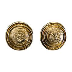 Earrings YVES SAINT LAURENT Golden, bronze, copper