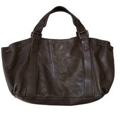 Leather Handbag GERARD DAREL Khaki