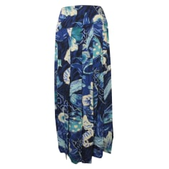 Maxi Skirt CHACOK Blue, navy, turquoise