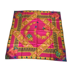 Silk Scarf CARTIER Multicolor