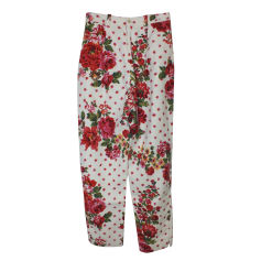 Straight Leg Pants CHACOK Multicolor