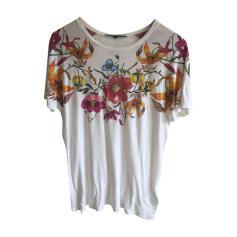 Top, t-shirt GUCCI Bianco, bianco sporco, ecru