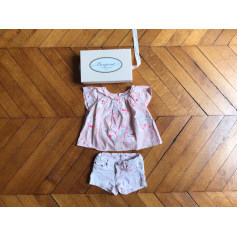 Shorts Set, Outfit BONPOINT Pink, fuchsia, light pink