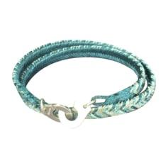 Bracelet DINH VAN Bleu, bleu marine, bleu turquoise