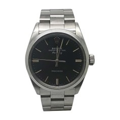 Wrist Watch ROLEX AIR KING Black