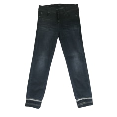 Skinny Jeans 7 FOR ALL MANKIND Schwarz