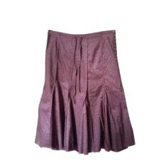 Midi Skirt IKKS Purple, mauve, lavender