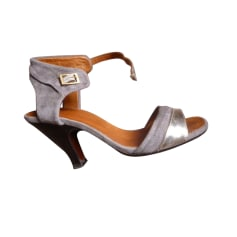 Heeled Sandals CHIE MIHARA Gray, charcoal
