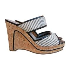Sandales compensées MARC BY MARC JACOBS Blanc, blanc cassé, écru