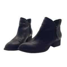 Bottines & low boots plates JEFFREY CAMPBELL Noir