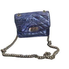 Leather Handbag ZADIG & VOLTAIRE Blue, navy, turquoise