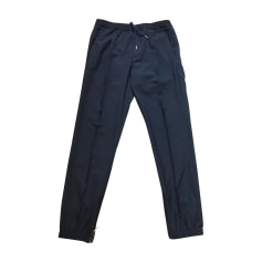 Pantalone dritto DIOR HOMME Blu, blu navy, turchese