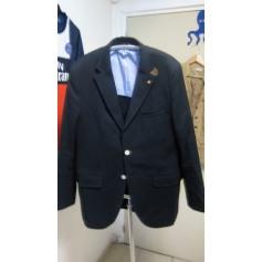 Veste de costume MASSIMO DUTTI Bleu, bleu marine, bleu turquoise