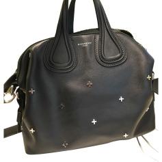 Leather Handbag GIVENCHY Black