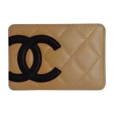 Card Case CHANEL Cambon Beige, camel