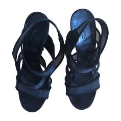Sandales à talons GUCCI Noir