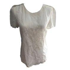 Top, T-shirt IKKS White, off-white, ecru
